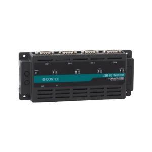 コンテック USB Nシリーズ 4-ch RS-232C シリアル通信ユニットCOM-4CN-USB|d-park