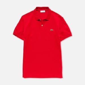 【正規品】LACOSTE(ラコステ)NEWFIT半袖ポロ RED PH051V 240|d-park