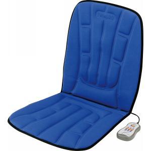 ツインバード シートマッサージャー ブルー EM-2537BL|d-park