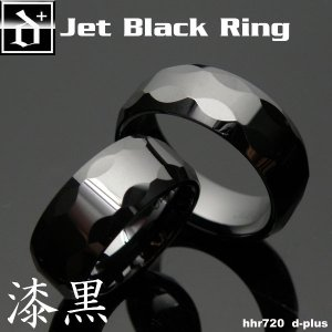 メンズリング セラミック 漆黒 HHR720 オープン記念 セール|d-plus-genius