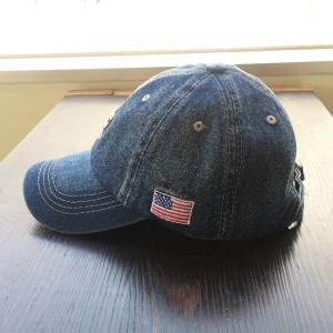 帽子 NYC 刺繍 ロゴ入り デニム キャップ メンズ レディース シンプル オープン記念 セール|d-plus-genius|05