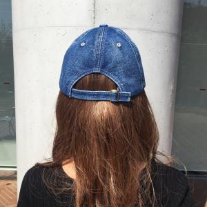 帽子 NYC 刺繍 ロゴ入り デニム キャップ メンズ レディース シンプル オープン記念 セール|d-plus-genius|07
