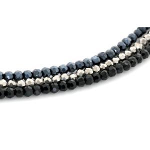 ブラッククリスタル ネックレス メンズ ブラックダイヤモンド ブラックスピネル オープン記念 セール メール便送料無料|d-plus-genius|06