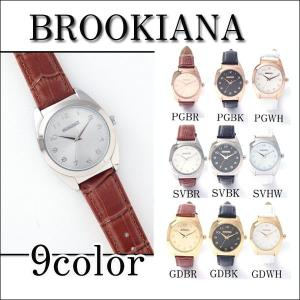 腕時計 ブルッキアーナ 天然 ダイヤモンド  レディース オープン記念 セール|d-plus-genius