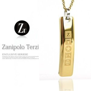 メンズネックレス  新作 ザニポロ タルツィーニ/18金プレーティングネックレス -Zanipolo Terzini- zexp0005 オープン記念 セール|d-plus-genius