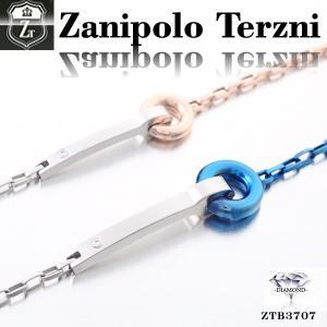 ステンレス/ブレスレット/ザニポロタルツィーニ/Zanipolo Terzini/バングル/ダイヤモンド オープン記念 セール|d-plus-genius