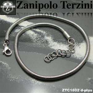 ステンレス/チョーカー/ザニポロタルツィーニ/Zanipolo Terzini/ザニポロ ztc1802 オープン記念 セール|d-plus-genius