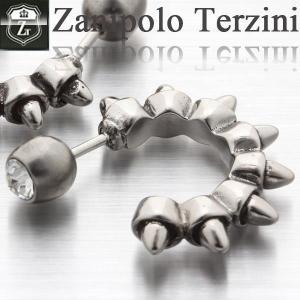 ピアス メンズ ステンレス/ピアス/ザニポロタルツィーニ/Zanipolo Terzini/ザニポロ ZTE2261 オープン記念 セール|d-plus-genius