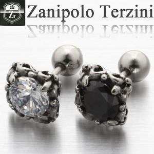 ピアス メンズ ステンレス/ピアス/ザニポロタルツィーニ/Zanipolo Terzini/ザニポロ ZTE2265 オープン記念 セール|d-plus-genius