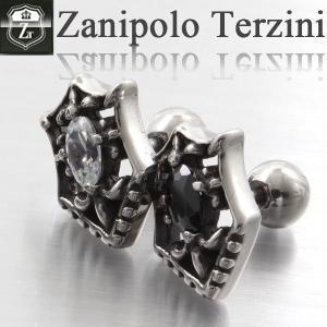 【エントリーでポイント10倍】ピアス メンズ ステンレス/ピアス/ザニポロタルツィーニ/Zanipolo Terzini/ザニポロ ZTE2267 オープン記念 セール d-plus-genius
