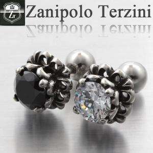 ピアス メンズ ステンレス/ピアス/ザニポロタルツィーニ/Zanipolo Terzini/ザニポロ ZTE2268 オープン記念 セール|d-plus-genius