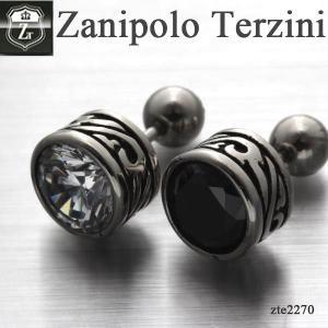 ピアス メンズ ステンレス/ピアス/ザニポロタルツィーニ/Zanipolo Terzini/ザニポロ ZTE2270 オープン記念 セール|d-plus-genius