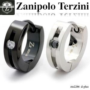 ピアス メンズ ステンレス/ピアス/ザニポロタルツィーニ/Zanipolo Terzini/ザニポロ zte2286 オープン記念 セール|d-plus-genius