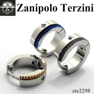 ザニポロ タルツィーニ -Zanipolo Terzini- ステンレス ピアス メンズ|d-plus-genius