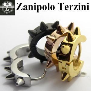 ザニポロ タルツィーニ -Zanipolo Terzini- とげとげ  ピアス メンズ|d-plus-genius