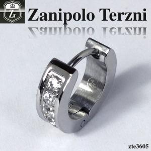 ピアス メンズ ステンレス レディース/ピアス/キュービックジルコニア/ザニポロタルツィーニ/Zanipolo Terzini/ZTE3605 オープン記念 セール|d-plus-genius
