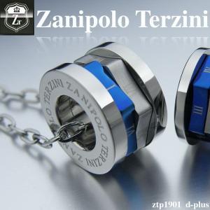 ステンレス/ネックレス/ザニポロタルツィーニ/Zanipolo Terzini/ザニポロ ZTP1901lBL オープン記念 セール|d-plus-genius