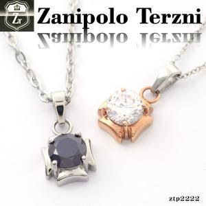 ステンレス/ネックレス/ザニポロタルツィーニ/ジルコニア/Zanipolo Terzini/ザニポロ ztp2222 オープン記念 セール|d-plus-genius