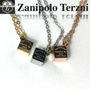 ステンレス/ネックレス/ザニポロタルツィーニ/キューブ/Zanipolo Terzini/ザニポロ ztp3810 オープン記念 セール|d-plus-genius