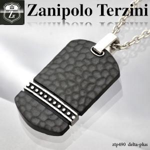 ドッグタグプレートネックレス ステンレス ネックレス -Zanipolo Terzini- オープン記念 セール|d-plus-genius