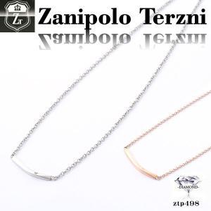 ステンレス/ネックレス/ザニポロタルツィーニ/ダイヤモンド/Zanipolo Terzini/ザニポロ ztp498 オープン記念 セール|d-plus-genius