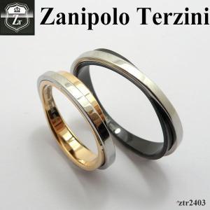 ペアリング   - Zanipolo Terzini -  ザニポロ タルツィーニ ステンレスリング  ZTR2403 オープン記念 セール|d-plus-genius