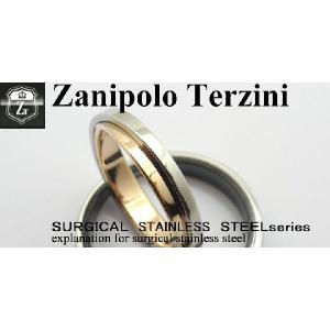 ペアリング   - Zanipolo Terzini -  ザニポロ タルツィーニ ステンレスリング  ZTR2403 オープン記念 セール d-plus-genius 02