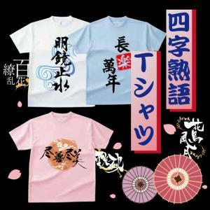 おもしろ Tシャツ 四文字熟語Tシャツ ゆったりサイズ 漢字 おみやげ 熟語|d-pop-pro