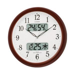 4FYA01-006 ネムリーナカレンダーM01 CITIZEN シチズン 電波掛時計 デジタル温湿度計・カレンダー付 クロック d-price