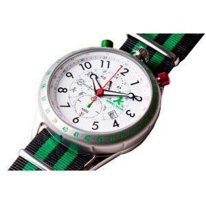 お取り寄せ AKS-4974-03 AMPELMANN アンペルマン クロノグラフ ホワイト 腕時計|d-price