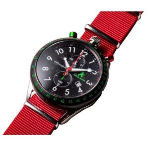 お取り寄せ AKS-4974-05 AMPELMANN アンペルマン クロノグラフ ブラック 腕時計|d-price