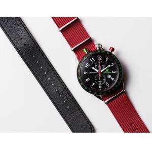 お取り寄せ AKS-4974-05 AMPELMANN アンペルマン クロノグラフ ブラック 腕時計 d-price 03