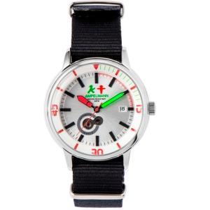 お取り寄せ AMT-4975-02 AMPELMANN アンペルマン オートマ ラウンド シルバー 腕時計|d-price