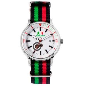 お取り寄せ AMT-4975-03 AMPELMANN アンペルマン オートマ ラウンド ホワイト 腕時計|d-price