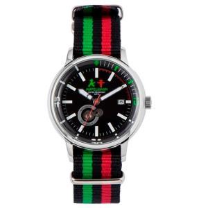 お取り寄せ AMT-4975-05 AMPELMANN アンペルマン オートマ ラウンド ブラック 腕時計|d-price