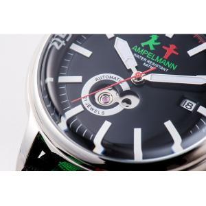 お取り寄せ AMT-4975-05 AMPELMANN アンペルマン オートマ ラウンド ブラック 腕時計|d-price|04