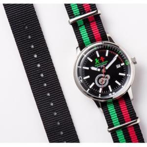 お取り寄せ AMT-4975-05 AMPELMANN アンペルマン オートマ ラウンド ブラック 腕時計|d-price|05