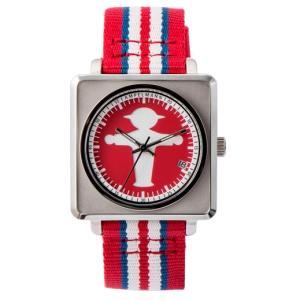 お取り寄せ APR-4971-19 AMPELMANN アンペルマン オートマ スクエア レッド 腕時計|d-price