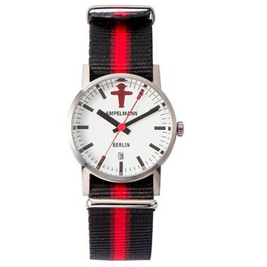 お取り寄せ ARI-4976-03 AMPELMANN アンペルマン クォーツ ラウンド ホワイト 腕時計|d-price