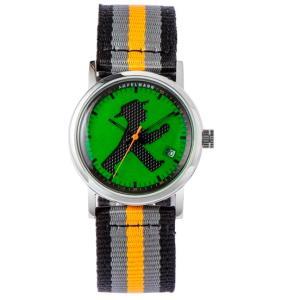 お取り寄せ ASC-4972-12 AMPELMANN アンペルマン クォーツ ラウンド グリーン 腕時計|d-price