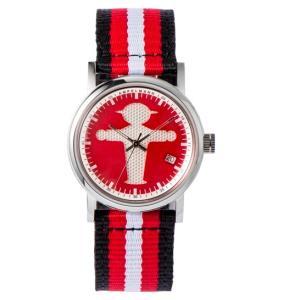 お取り寄せ ASC-4972-19 AMPELMANN アンペルマン クォーツ ラウンド レッド 腕時計|d-price