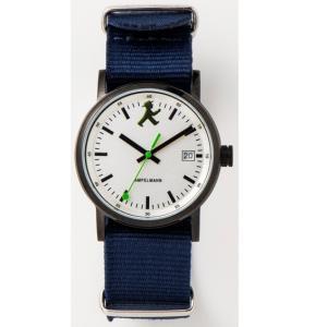 お取り寄せ ASC-4973-02 AMPELMANN アンペルマン クォーツ ラウンド レザーバンド シルバー 腕時計|d-price|03