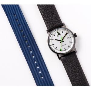 お取り寄せ ASC-4973-02 AMPELMANN アンペルマン クォーツ ラウンド レザーバンド シルバー 腕時計|d-price|05