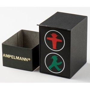 お取り寄せ ASC-4973-02 AMPELMANN アンペルマン クォーツ ラウンド レザーバンド シルバー 腕時計|d-price|06