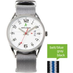 お取り寄せ ASC-4977-02 AMPELMANN アンペルマン クォーツ ラウンド シルバー 腕時計|d-price