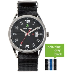 お取り寄せ ASC-4977-05 AMPELMANN アンペルマン クォーツ ラウンド 黒 腕時計|d-price