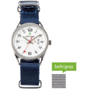 お取り寄せ ASC-4978-02 AMPELMANN アンペルマン クォーツ ラウンド シルバー 腕時計|d-price