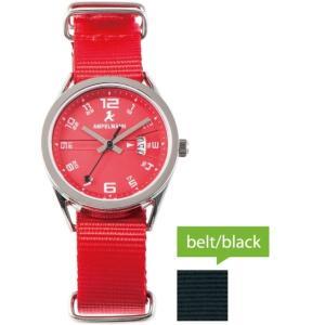 お取り寄せ ASC-4978-19 AMPELMANN アンペルマン クォーツ ラウンド 赤 腕時計|d-price