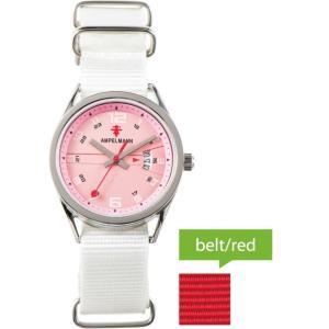 お取り寄せ ASC-4978-22 AMPELMANN アンペルマン クォーツ ラウンド ピンク 腕時計|d-price