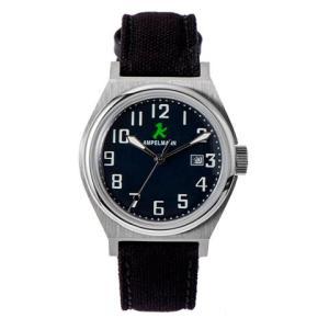 お取り寄せ ASC-4979-04 AMPELMANN アンペルマン クォーツ ラウンド ネイビー 腕時計|d-price